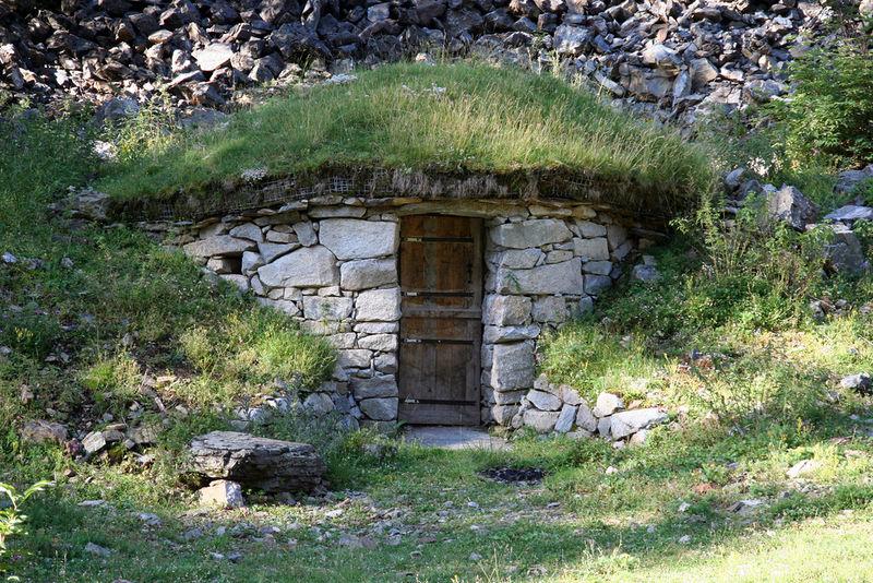 stone-hut location
