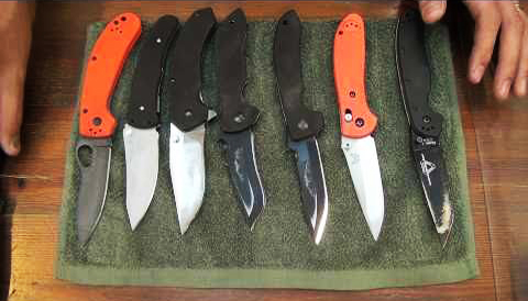 folding hunting knives