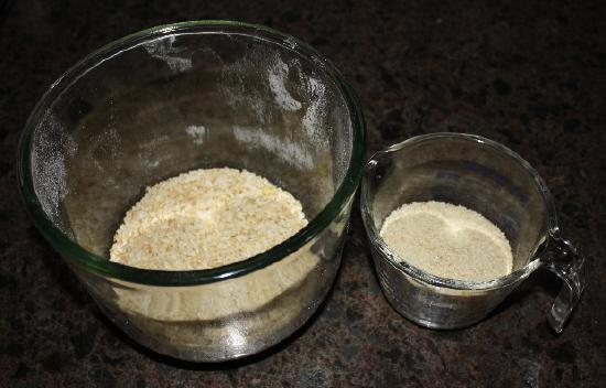 making flour