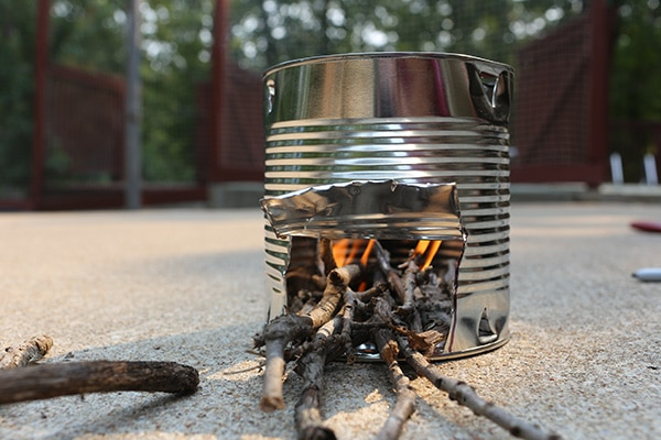 Campground Fireplaces and Stoves
